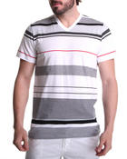 Southpole - Thin Stripe V-Neck Tee