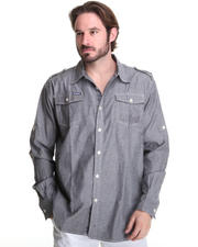 Shirts - Drake Roll-up Sleeve Shirt