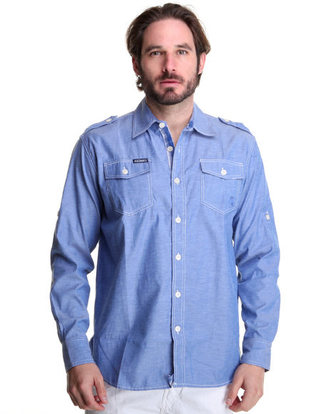 - Drake Roll-up Sleeve Shirt