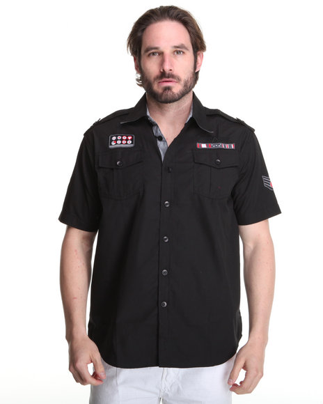 - Fury Short-Sleeve Military Shirt
