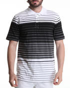 Men - Jersey Stripe Polo