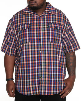 Rocawear - Fortress Plaid S/S Button-Down (B&T)