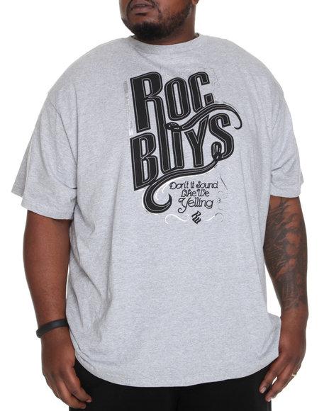 Rocawear Men Grey Roc Boys Tee (B&T)