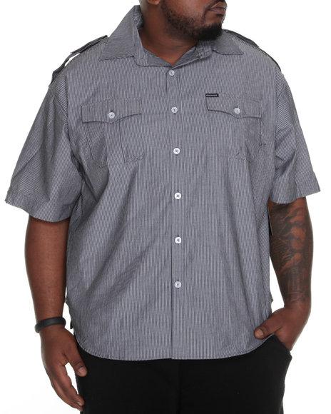 Rocawear Men Black Riley S/S Button-Down