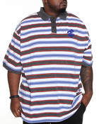Men - Mini Stripe S/S Polo