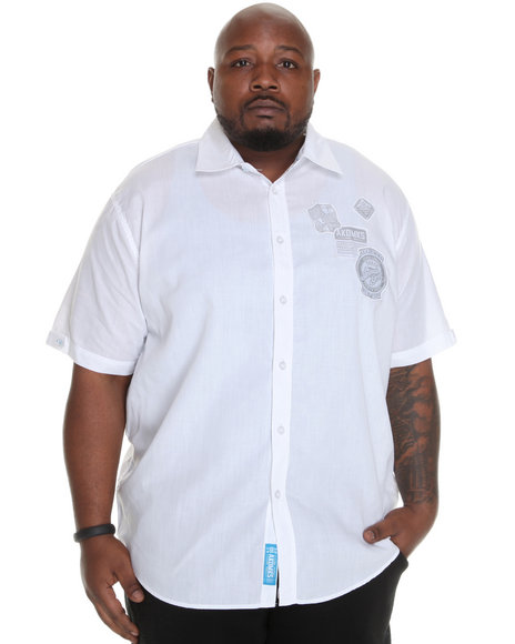 - Eric Short Sleeve Shirt w/ Patches (B&T)