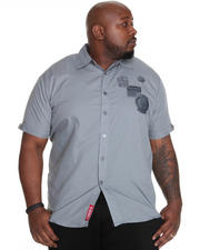 Shirts - Eric Short Sleeve Shirt w/ Patches (B&T)