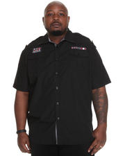 Big & Tall - Fury Short-Sleeve Military Shirt (B&T)
