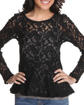 Fashion Lab - Rose wall lace top