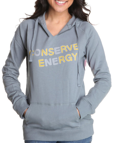 Basic Essentials Women Grey Printed Pullover Hoodie