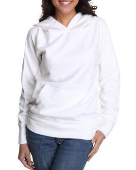 Basic Essentials - Fleece Light Weight Hoodie Jacket w/kangaroo pockets