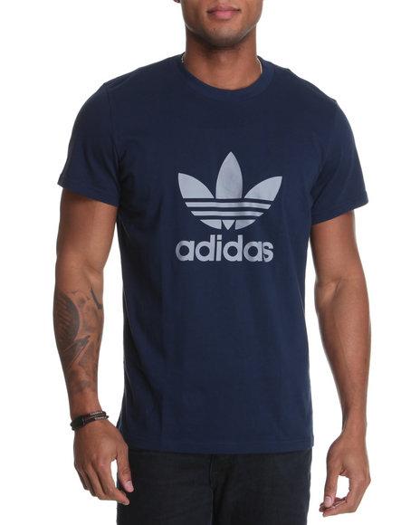 Adidas Men Navy Adi Trefoil Tee