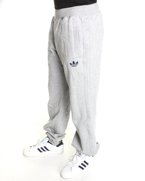 Adidas Men Grey Adidas Originals Sweatpants