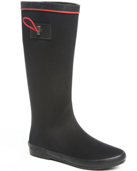 Fashion Lab Women Black Mia Rainboot