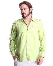 Button-down - Drake Roll-up Sleeve Shirt
