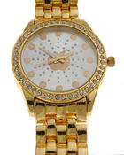 Jewelry - AB Blinged Apples Metal Watch