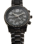 Jewelry - AB Bling Face Metal Band Watch