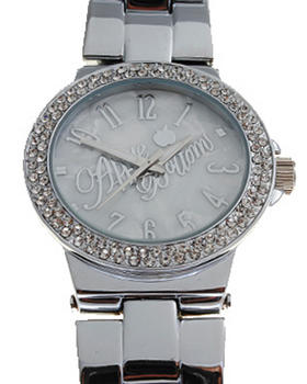 Apple Bottoms - AB Blinged Out Metal Watch