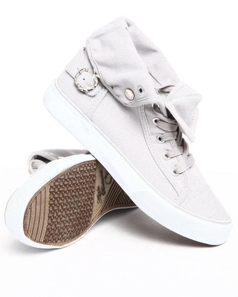Apple Bottoms Women Light Grey Elton Sneaker