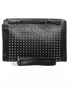 Fashion Lab - Monica Laptop/Oversized Document Clutch bag