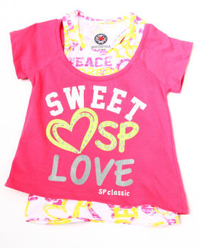 La Galleria - Sweet Lover 2-fer top (little girls)