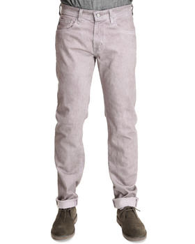 AG Adriano Goldschmied - Mauve Wave Dye Matchbox Slim Straight Jeans