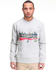 Billionaire Boys Club - Gone Fishing L/S crewneck