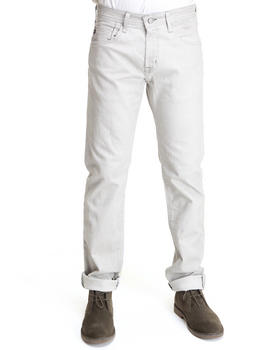 DJP OUTLET - Grey Way Dye Matchbox Slim Straight Jeans