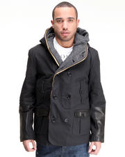 DJP OUTLET - Hybrid Peacoat