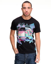 Shirts - Neon Lambo Flocked Tee