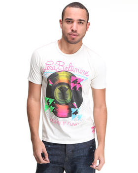 Lord Baltimore - Keepin it Funky Flocked Tee