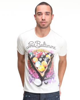 Lord Baltimore - Rack Em Up Flocked Tee
