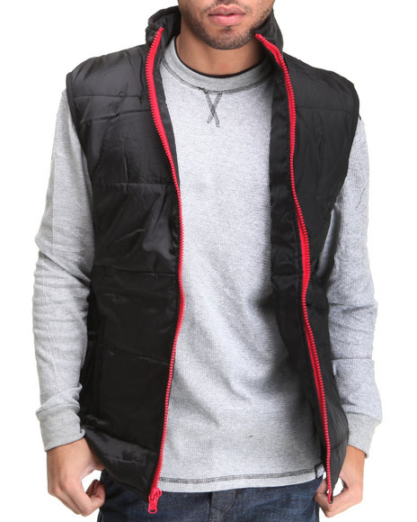 Enyce Men Black Zone Vest