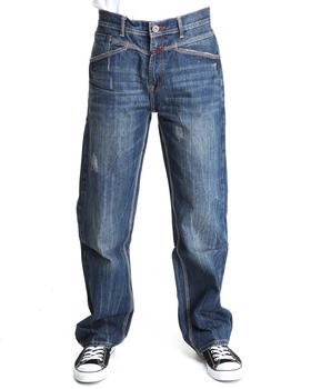 Girbaud - X- Edge Distressed Denim Jeans
