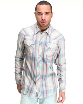 True Religion - Light Flannel L/S Western Shirt