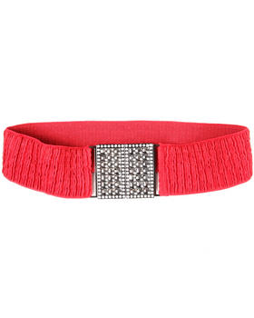 XOXO - Bling Interlock Stretch Belt
