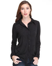 Tops - Jenna Button Down