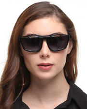 Women - Rainy Days Shades - Black / Woodgrain