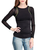 Long-Sleeve - MESH RACER TOP