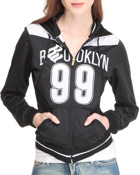 Rocawear Women Black Brooklyn 99 Active Jacket