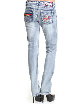 COOGI - COOGI SKINNY W/ EMBROIDERED POCKET