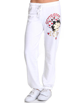 Graphix Gallery - BETTY BOOP FRENCH TERRY SWEATPANTS