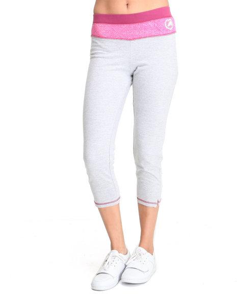 Ecko Red Women Grey Active Capri Pants