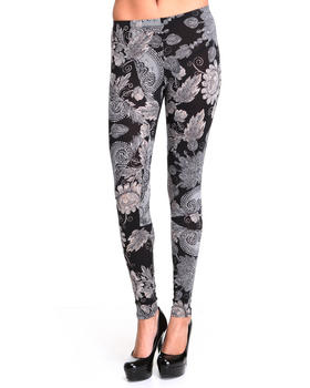 Fashion Lab - Printed Leggings