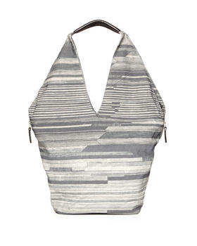Collina Strada - Luna Bag - Oversized Canvas Hobo w/ Side Zipper Detail