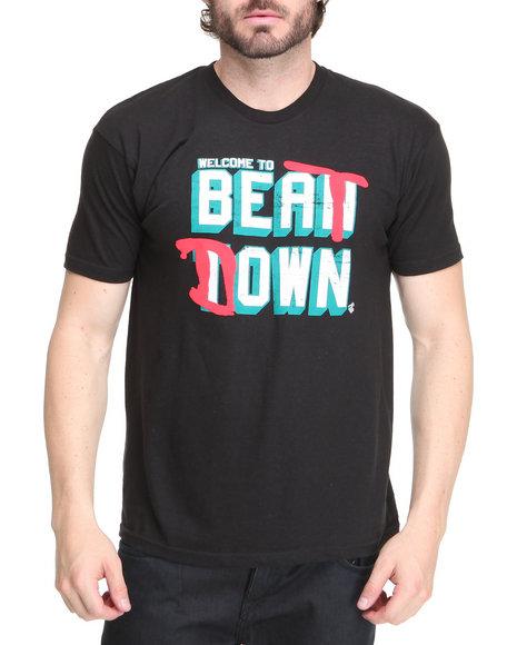 Rocawear Men Black Beat Down S/S Tee