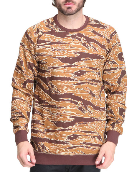 Blvck Scvle - Men Tan Sigma Crewneck