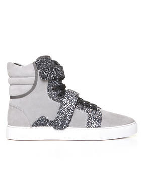 Android Homme - Propulsion Hi Suede w/ Exotic Detail