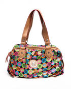 Women - Rainbow Apple Core Satchel