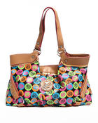 Women - Rainbow Apple Core Tote